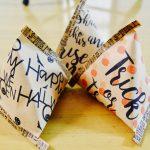 【無料テンプレ配布】ハロウィンのお菓子入れは手作りで!かわいいテトラバッグを作ろう!作り方も簡単です!