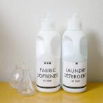 【無料テンプレ配布】カインズの洗濯ボトル用のラベルを作る、用紙選びの大事なたった一つのポイント。